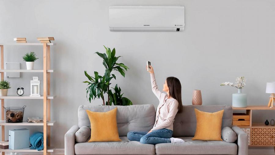 aire acondicionado en verano
